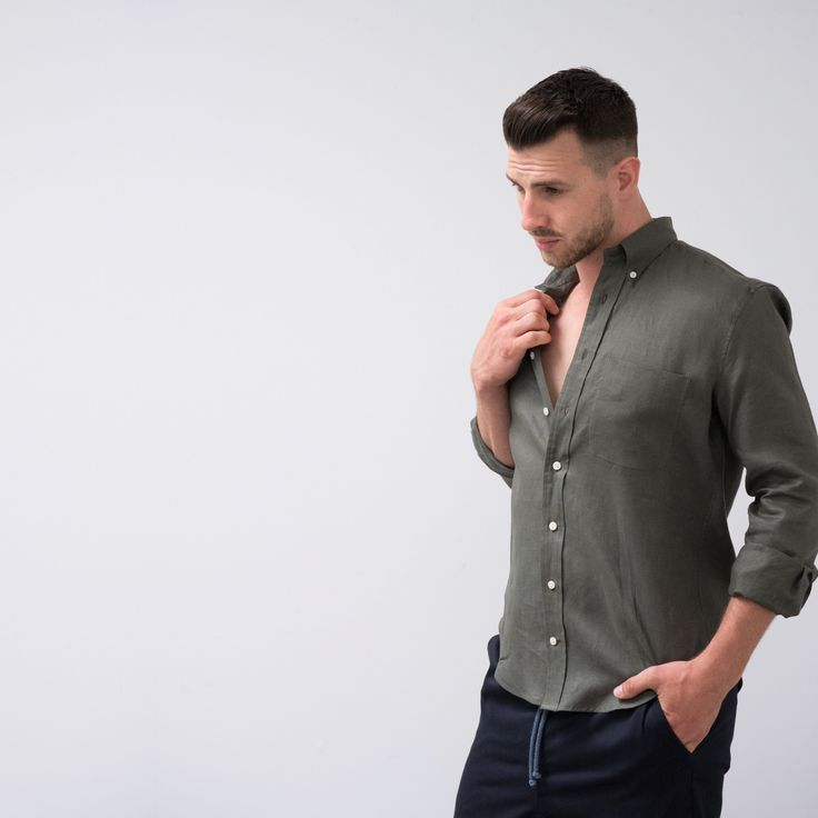 The Everyday Shirt has soul! Soft and textured in aged tones for the summer season. Deconstructing the ...