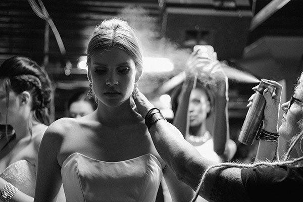 Resultado de imagen para wedding makeup backstage