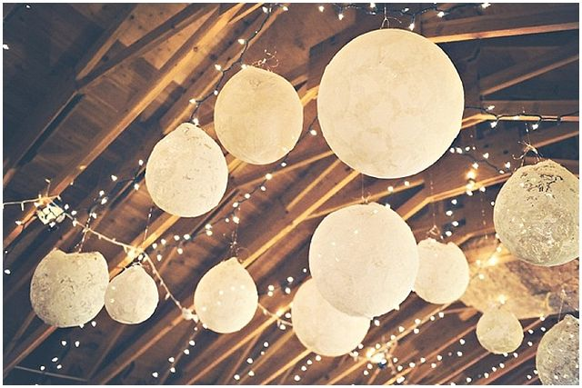 diy lace wedding balloons....beautiful!//wedding reception decor ideas