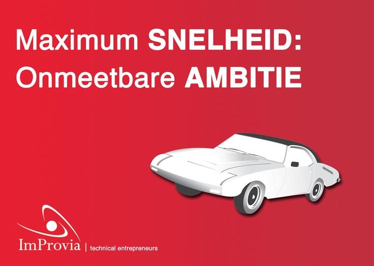 Sticker voor ImProvia http://www.improvia.nl/