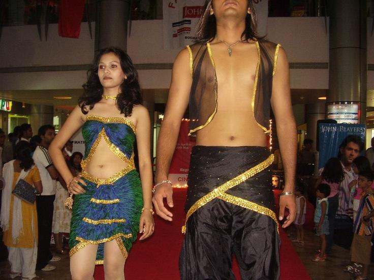 Fashion show at Mall