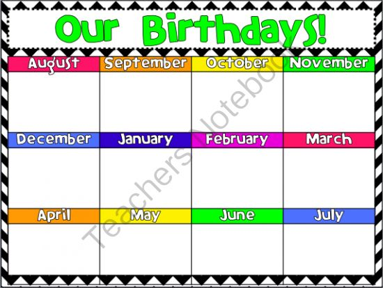 Use a dollar store document frame + this free sign to make a SMALL birthday reminder board! :) Available in multiple colors!