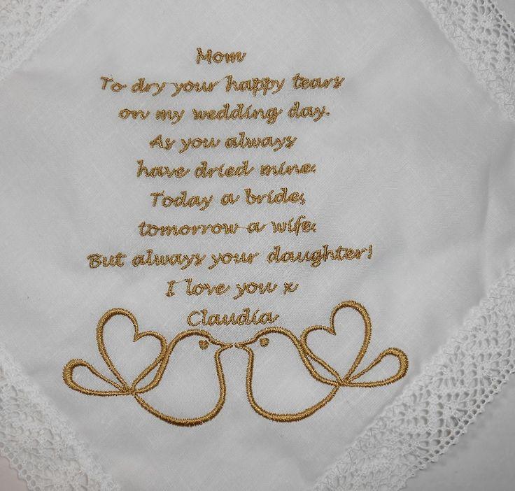 Zakdoek bedrukken bruiloft