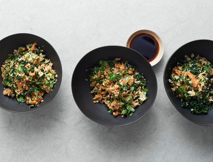 If you like kimchi, youll flip for this spicy, veggie-packed cauliflower fried rice.