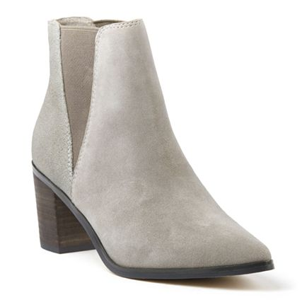 MEADOW POINTED CHELSEA BOOT - Grey SuedeDrops