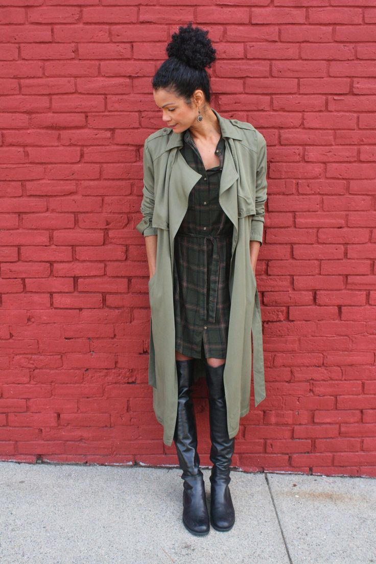 Shirtdresses are so versatile & comfortable to wear, but they aren't just for the warmer days. This is a perfect year-round piece.  Still taking advantage of the unseasonably warm fall days her…