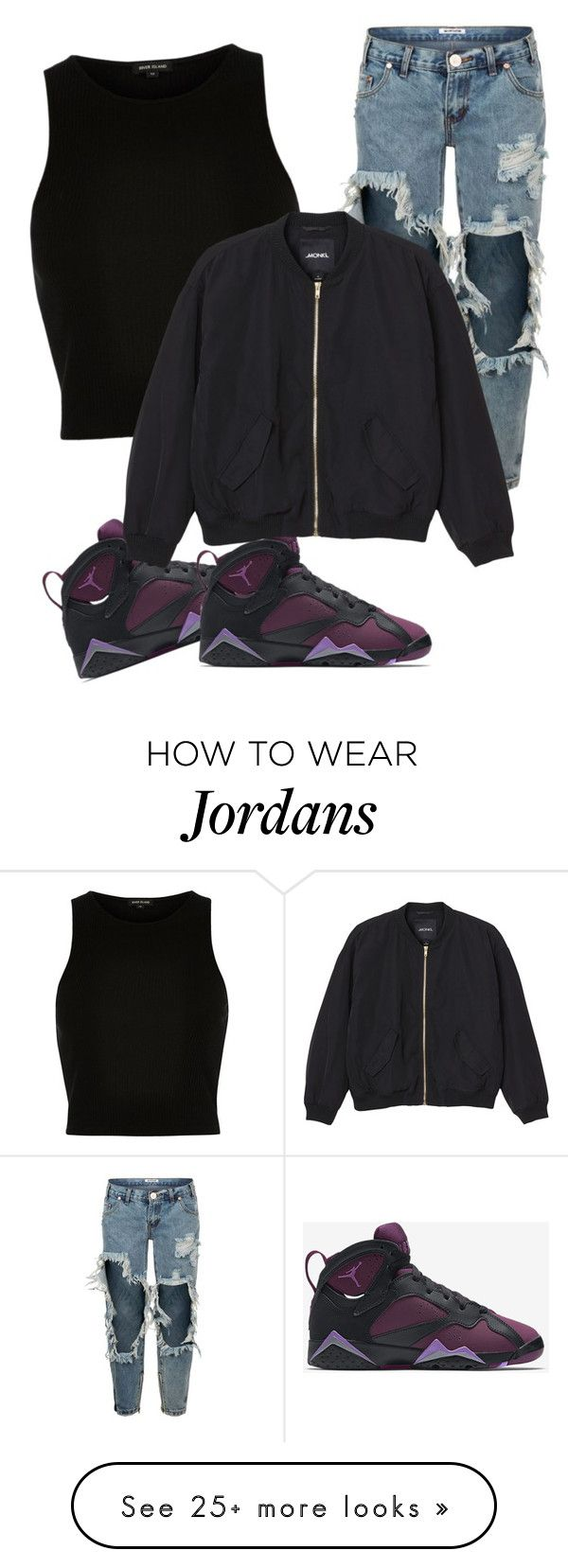 """"""""""" by pknyshia on Polyvore featuring River Island, One Teaspoon, NIKE, Monki, women's clothing, women, female, woman, misses and juniors"""