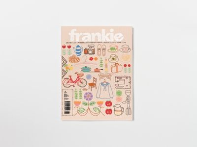 Blood, sweat, tears, cake-nibbling, trips to the country, nostalgic viewings of Twin Peaks ... frankie issue 50 has taken a lot of doing, but finally it's gone out into the world to make friends and influence people.  http://www.frankie.com.au/past-issues