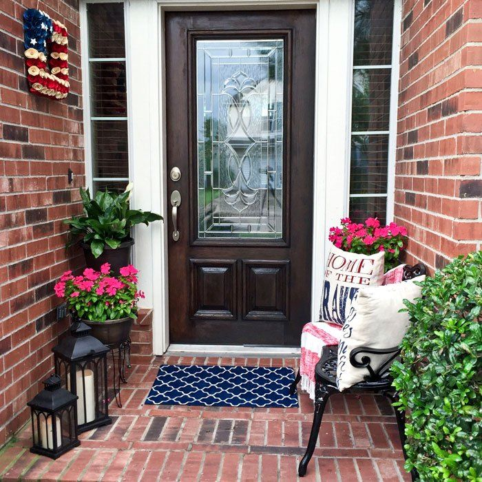 Front Porch Decorating: Best 20+ Small Porch Decorating Ideas On Pinterest