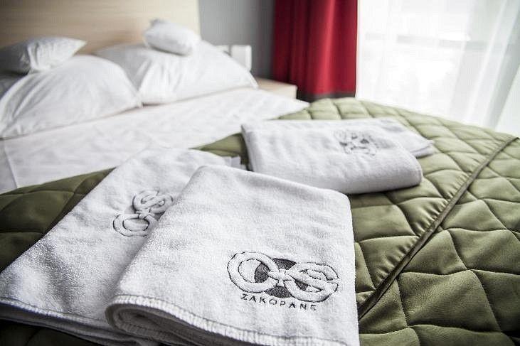 Hafty dla hoteli, logowanie ręczników hotelowych