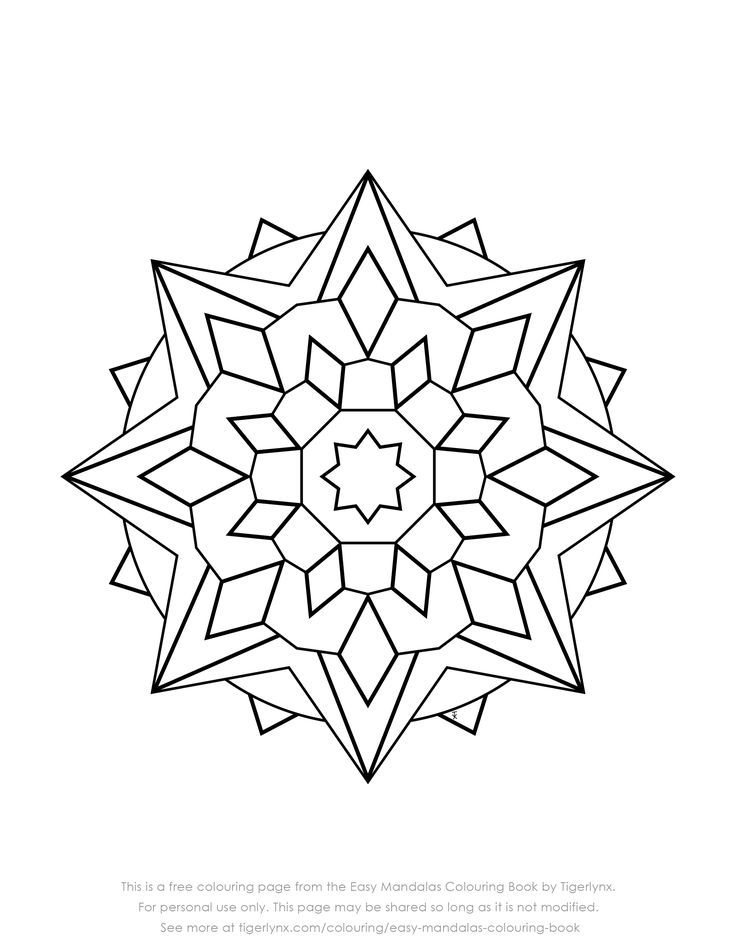 best 25  easy mandala ideas on pinterest