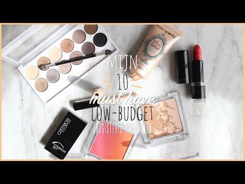 10 must have low-budget drogisterij producten - YouTube