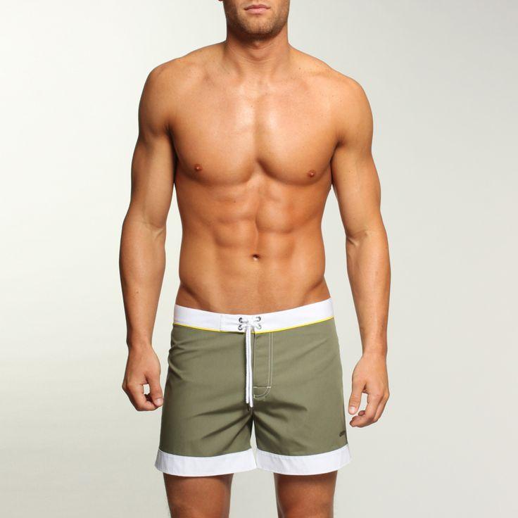 Men's Brief Swimsuit & Men Bathing Suit swimwear- Olive Green 0FQsd