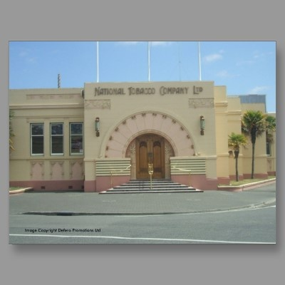 Rothmans Building  Art Deco  Napier