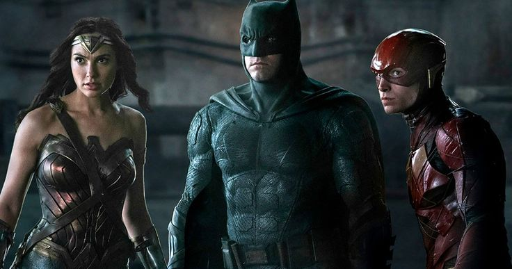 New Justice League Trinity Unites in Fight Ready Photo -- A new Justice League images has Wonder Woman, The Flash and Batman ready for what ever danger comes next. -- http://movieweb.com/justice-league-movie-new-photo-ben-affleck-humor/