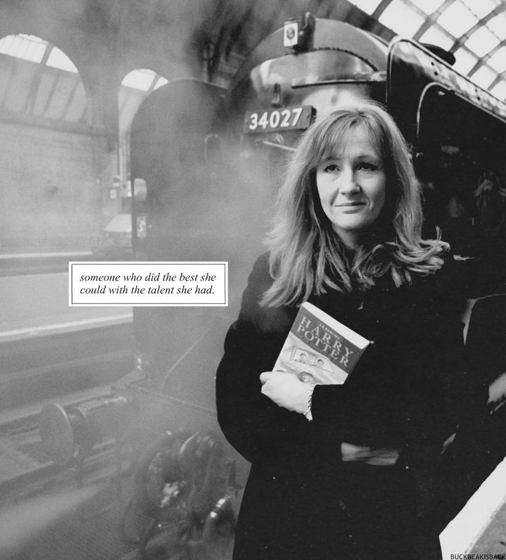 "J.K. Rowling: ""I would like to be remembered as someone who did the best she could with the talent she had"""