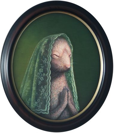 Praying II by Rieko Woodford-Robinson