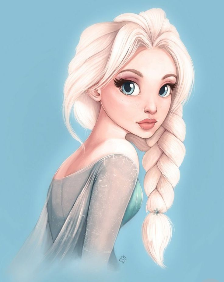 I hate frozen but I love this art style