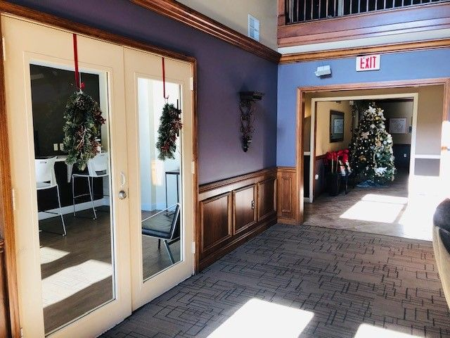 Getting In The Holiday Spirit At The Highlands At Faxon Woods