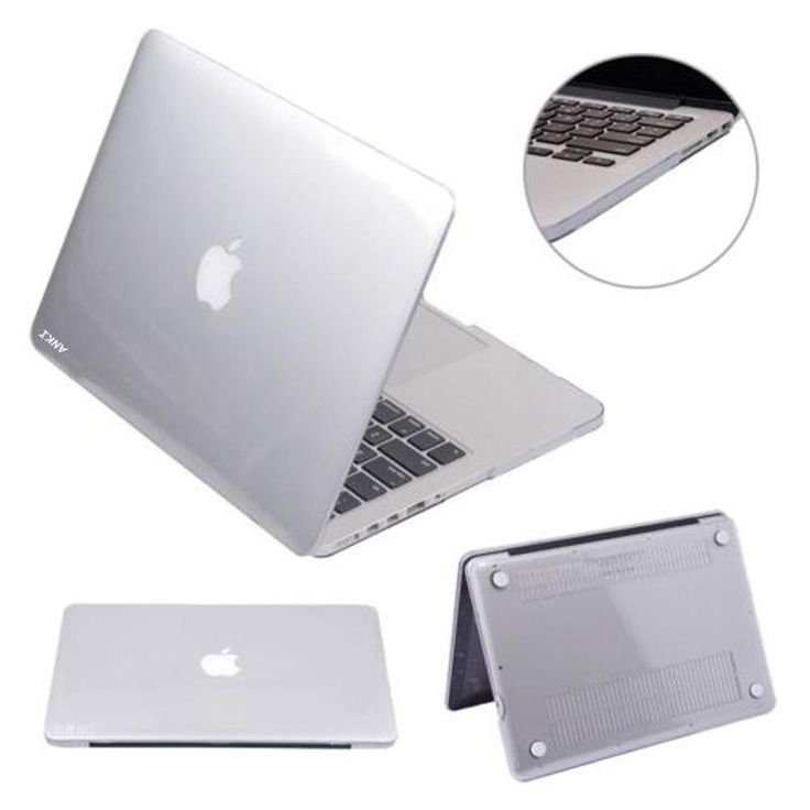 """[Visit to Buy] ANKI Hot Sale Glossy Crystal Hard Case Cover for MacBook Air 11/13"""" Pro Retina 13/15"""" New 12"""" Free Shipping #Advertisement"""