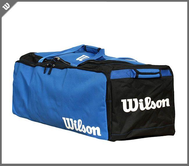 Wilson Team Gear Equipment Bag Football Baseball Sports Outfit Blue NWT A9705 #Wilson
