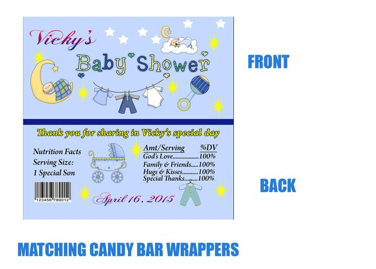 candy bar wrappers template for baby shower printable free - 25 best ideas about free invitation templates on