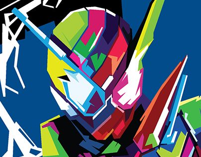 "Check out new work on my @Behance portfolio: ""Fan Art - Anomaly WPAP Kamen Rider Build"" http://be.net/gallery/57320683/Fan-Art-Anomaly-WPAP-Kamen-Rider-Build"