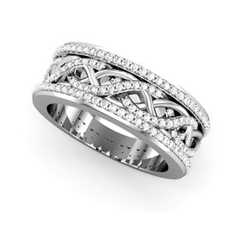 Brides: Platinum Wedding Rings | Engagement Rings | Brides.com