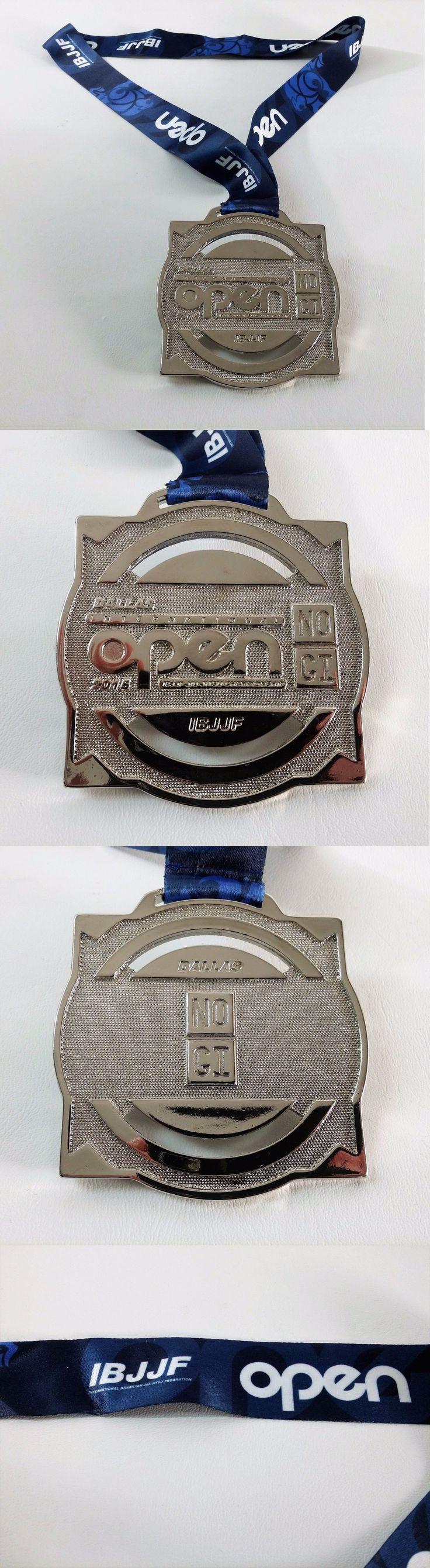 Other Combat Sport Supplies 16044: 2015 Dallas Tx Open Ibjjf Jiu-Jitsu Championship Silver Medal Trophy No Gi Award -> BUY IT NOW ONLY: $44.95 on eBay!