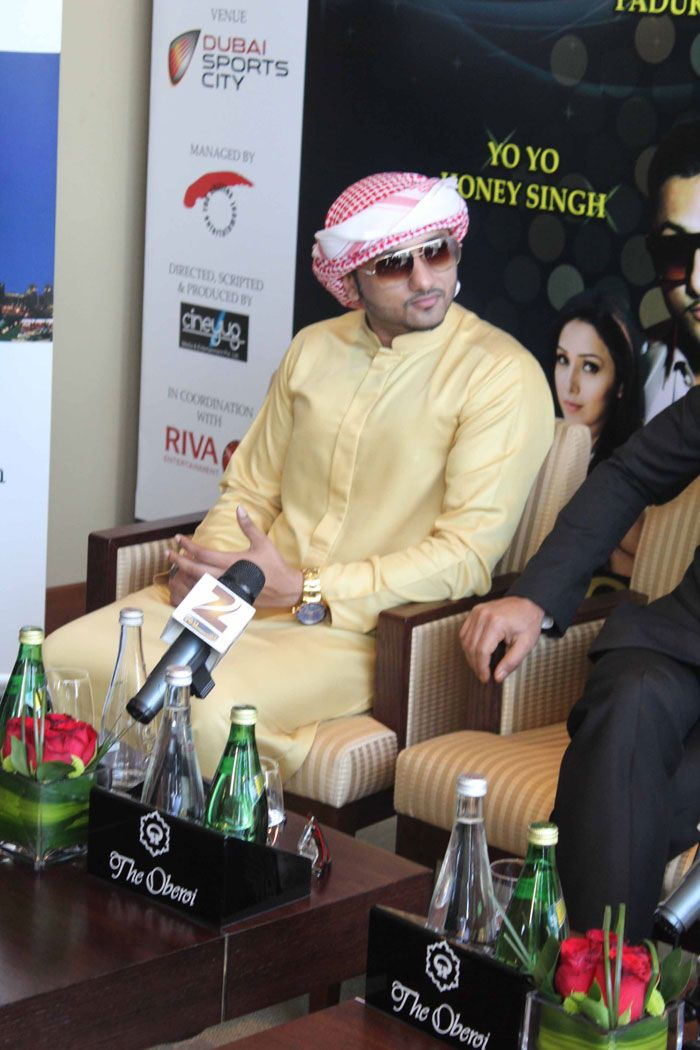 Honey Singh in a traditional dress