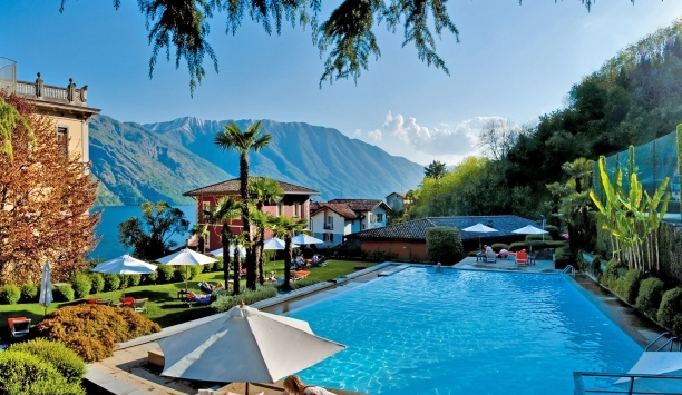 Grand Hotel Tremezzo, Lake Como, Italy. Im not a big lake person..but this is awesome