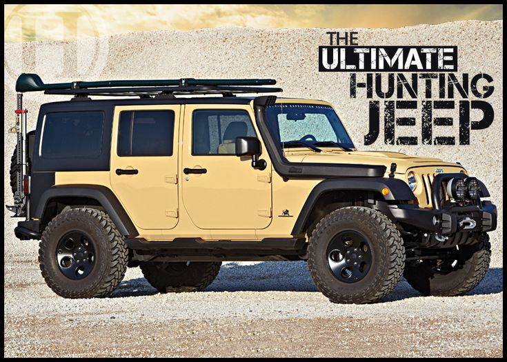 Mike Schoby built the ultimate hunting Jeep. See the new ride at Petersen's Hunting.