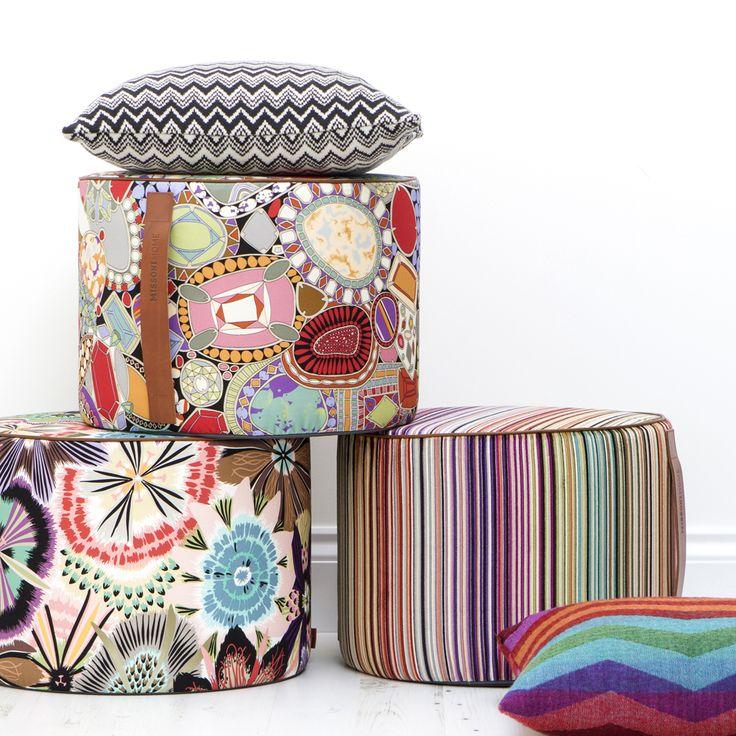 Разноцветный зигзаг от Missoni Home