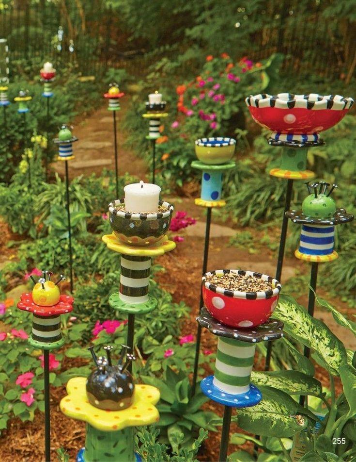 20+ Garten Deko-Ideen. Hier sind weitere Ideen für Ihren Garten in diesem Jahr. Diese