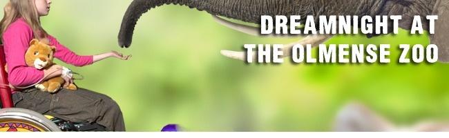 Dromen kan in de zoo ...Gratis naar de zoo op vrijdagavond: 7 juni 2013!(alle kinderen (t.e.m. 21 jaar) met een handicap of een chronische ziekte samen met hun gezin  Gratis naar de zoo op vrijdagavond: 7 juni 2013!  Ook dit jaar weer nodigt de Olmense Zoo alle kinderen (t.e.m. 21 jaar) met een handicap of een chronische ziekte uit om samen met hun gezin GRATIS een avondje uit te beleven tussen de dieren van 18 tot 22 uur! Dreamnight at the Zoo is een wereldwijd initiatief waaraan binnen…