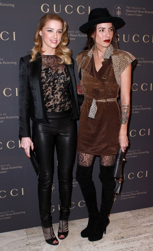 Amber Heard and Tasya van Ree are a famous lesbian couple. One is a photographer. The other is an actress.