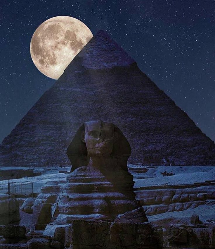The Great Pyramid of Giza, Egypt, by moonlight.  Spectacular!  ©Marco Carmassi  www.adventurefittravel.com