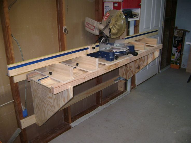 Miter Saw Planer Stand Plans Woodworking Projects Amp Plans