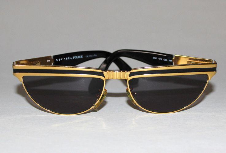 Vintage VOGART by POLICE Sonnenbrille - 80er Jahre Occhiali Sunglasses Lunettes