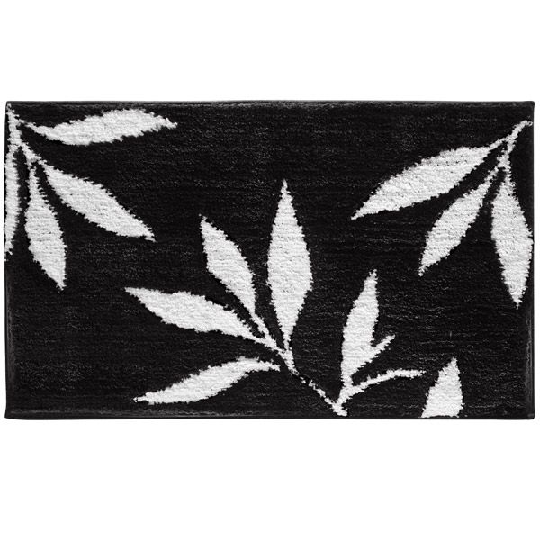 Best Black And White Bath Images On Pinterest Bath Mats - Black white bath mat for bathroom decorating ideas