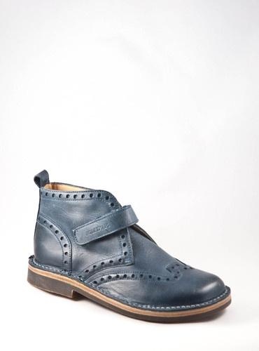 %%POM D'API~BROGUE DESERT VELCRO~Boots mit Klett~Budapester~blau~Preis120€%% | eBay