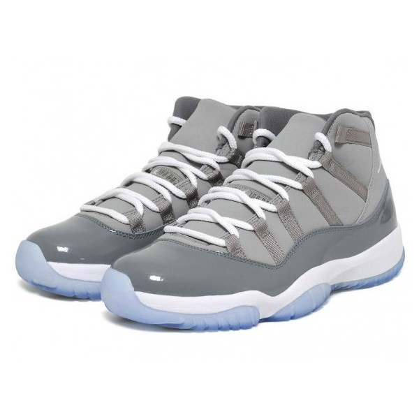 Air Jordan XI (11) Cool Grey Available Now ❤ liked on Polyvore
