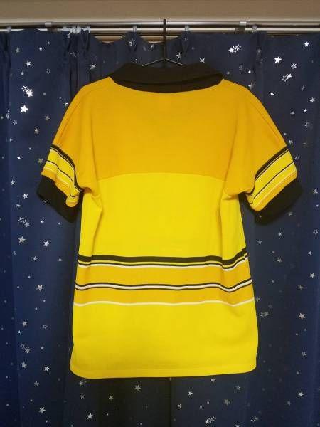 puma プーマ スイス ヤングボーイズ シャツ ユニ ヴィンテージ USED 黄×黒 L? (久保)_画像2