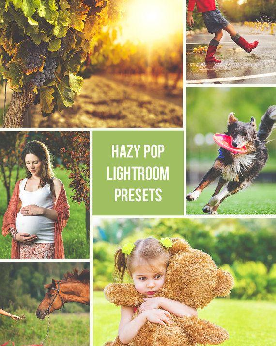 Hazy Pop  3 Lightroom Presets by PresetsGalore on Etsy, $4.00