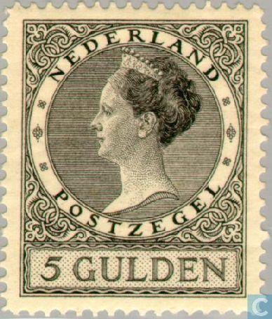 Netherlands [NLD] - Queen Wilhelmina-Type ' Veth ' 1926