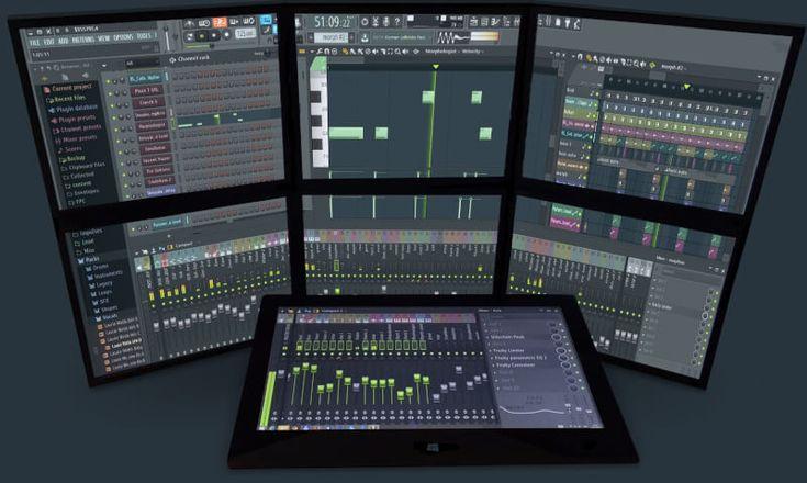 Existen varios programas musicales que pueden servir en el campo profesional de la música. FL Studio es un excelente programa de música, el cual muchos profesionales los utilizan en sus estudios para poder hacer producciones