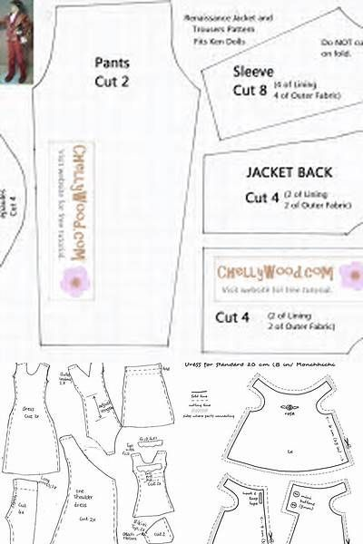 photo about Free Printable Doll Clothes Patterns for 18 Inch Dolls titled Totally free Printable 18 Inch Doll Outfits Types - Bing photographs