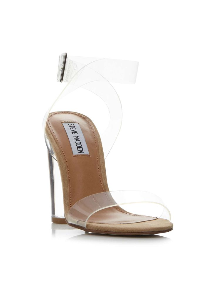 Buy your Steve Madden Clearer -sm Clear Strap Heel Court Shoes online now at House of Fraser. Why not Buy and Collect in-store?