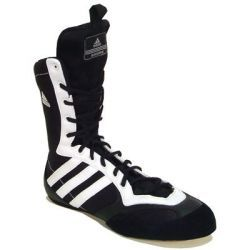 Adidas Tygun Boxing Boot Competition/in the ring training boot: - gripping outsoles for a secure and solid stance - die-cut http://www.comparestoreprices.co.uk/sports-shoes/adidas-tygun-boxing-boot.asp