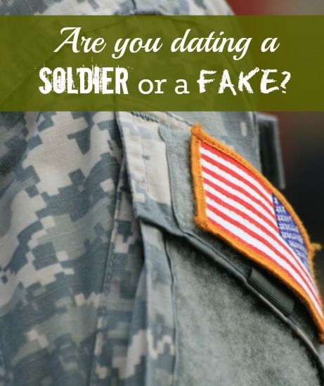 Fake soldiers on dating sites